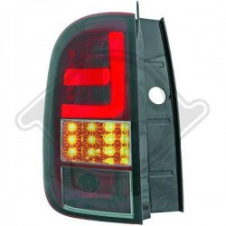 LAMPY TYLNE   DUSTER, Dacia Duster 10-