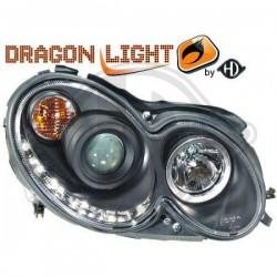 LAMPY PRZEDNIE   W209, Mercedes CLK 200-500 C209 02-09