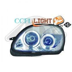 LAMPY PRZEDNIE      SLK, Nach Baugruppen CCFL Cool Lights ULTRAHELLES ES STANDLIC