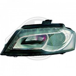 LAMPY PRZEDNIE A3, Audi A3 Lim./Sportb./Cabrio 08-12