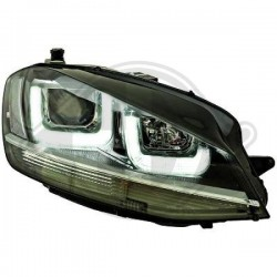 LAMPY PRZEDNIE  GOLF 7, Volkswagen Golf VII Limousine 12-