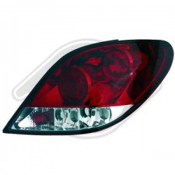 LAMPY TYLNE  207, Peugeot 207 06-09
