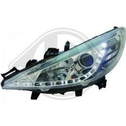 LAMPY PRZEDNIE 207, Peugeot 207 06-09