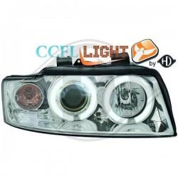 LAMPY PRZEDNIE  AUDI A4, Nach Baugruppen CCFL Cool Lights ULTRAHELLES ES STANDLIC