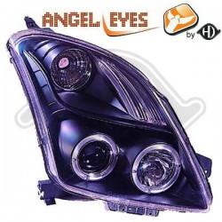 LAMPY PRZEDNIE   SWIFT, Suzuki Swift 05-10