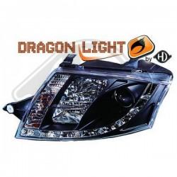 LAMPY PRZEDNIE TT, Audi TT Coupe/Cabrio 98-06