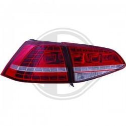 LAMPY TYLNE  GOLF 7, Volkswagen Golf VII Limousine 12-