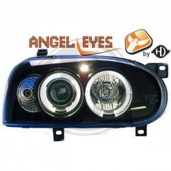LAMPY PRZEDNIE GOLF, Volkswagen Golf III 91-97