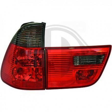 LAMPY TYLNE   X5, BMW X5 (E53) 99-03