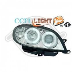 LAMPY PRZEDNIE     SAXO, Nach Baugruppen CCFL Cool Lights ULTRAHELLES ES STANDLIC