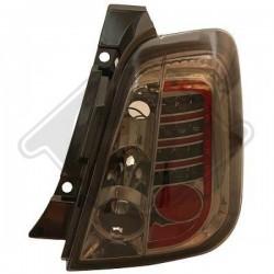 LAMPY TYLNE     500, Fiat 500 Lim./Cabrio 07-