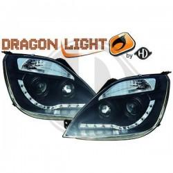 LAMPY PRZEDNIE  FIESTA Nach Baugruppen DragonLights Daylight