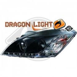 LAMPY PRZEDNIE   CEED, Kia Ceed Lim./Sportwagon 06-09