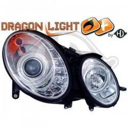 LAMPY PRZEDNIE   W211, Mercedes E-Kl.E220-500 W211 02-06