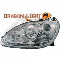 LAMPY PRZEDNIE W220, Mercedes S-Kl. W220 98-05