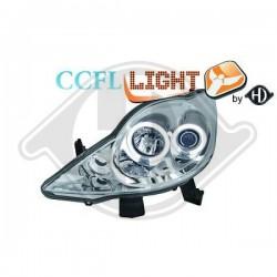 LAMPY PRZEDNIE     107, Peugeot 107 05-12