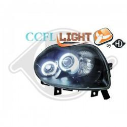 LAMPY PRZEDNIE     CLIO, Renault Clio II 98-01