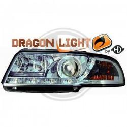 LAMPY PRZEDNIE A4, Nach Baugruppen DragonLights Daylight