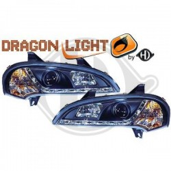 LAMPY PRZEDNIE   TIGRA, Opel Tigra 94-00