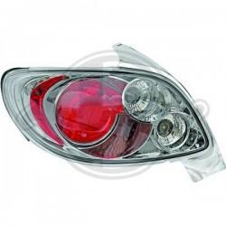 LAMPY TYLNE  206, Peugeot 206/206CC 98-08