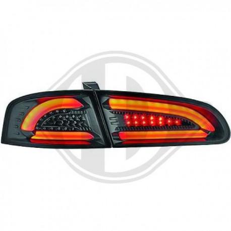 LAMPY TYLNE Seat Ibiza 02-08 CZARNE DYMIONE