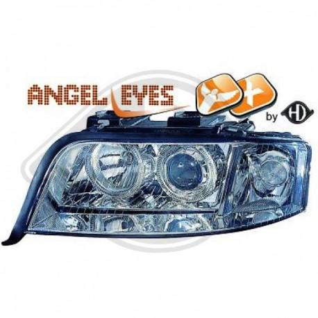 LAMPY PRZEDNIE  A6, Audi A6 (Typ 4B) 01-04