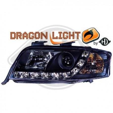 LAMPY PRZEDNIE A6, Nach Baugruppen DragonLights Daylight