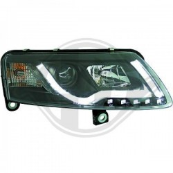 XENONSCHEINW.SET  AUDI A6, Nach Baugruppen TUBE DESIGN TFL Light Bar Optik