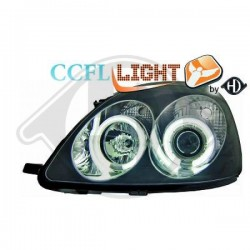 LAMPY PRZEDNIE   YARIS, Toyota Yaris 99-05