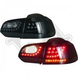 LAMPY TYLNE  GOLF 6, Volkswagen Golf VI Limousine 08-12